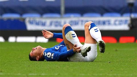 HLV Ancelotti tố Van Dijk khiến James Rodriguez lỡ trận Southampton vs Everton Jamesrodriguez