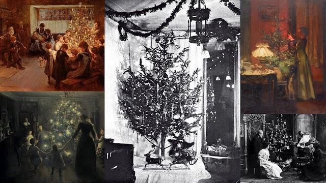 Η ιστορία του Χριστουγεννιάτικου έλατου