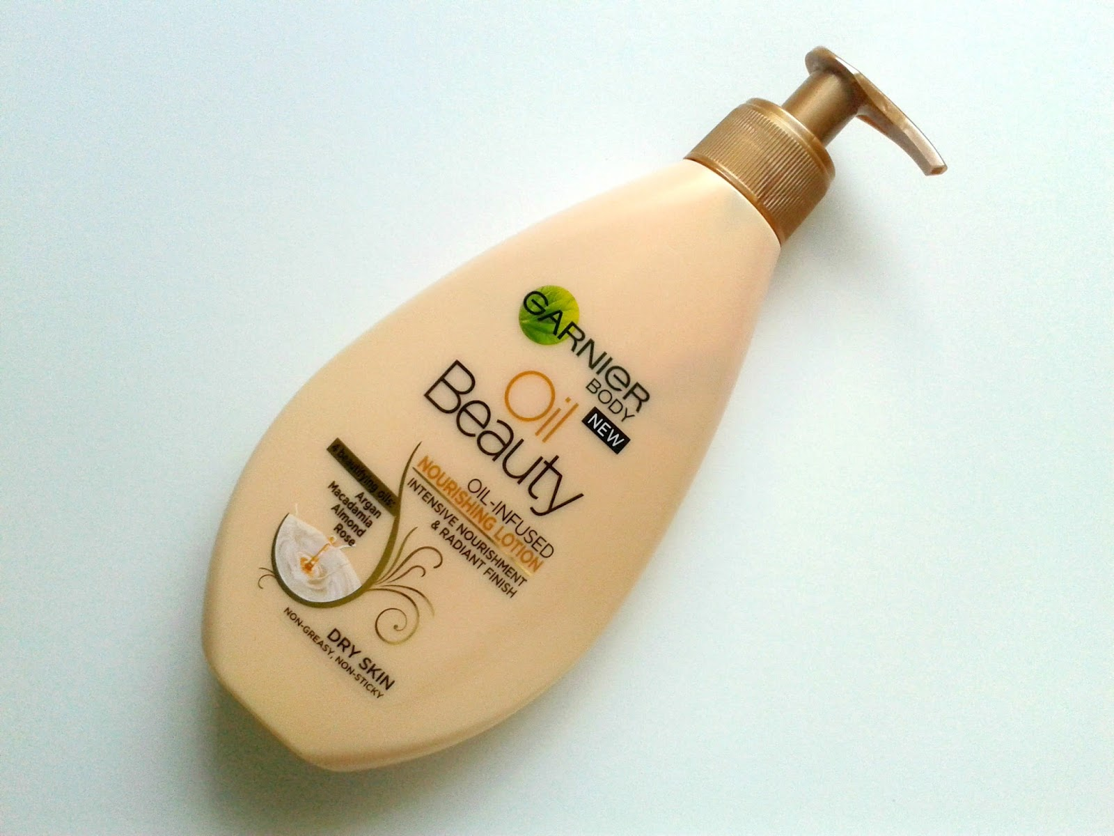 Garnier Oil Beauty Oil-Infused Nourishing Lotion Beauty Review