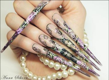 Nail designs: August 2012 - photo#17