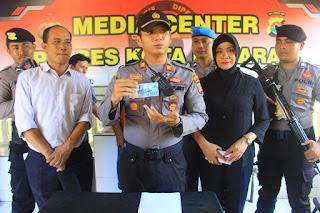 Jumpa Pers di Polres Mataram