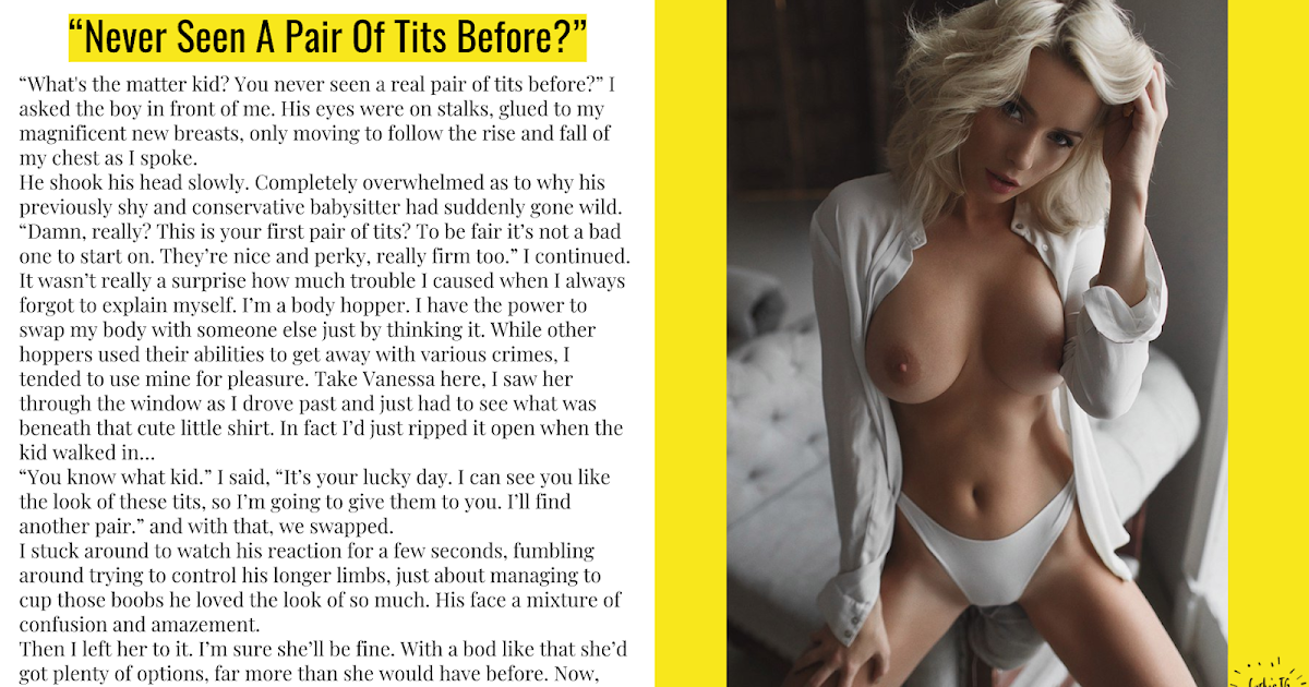 Nude Tg Captions Breast Expansion