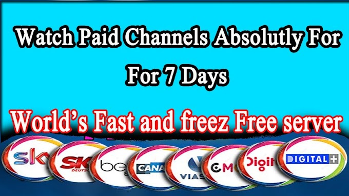 7 Days Free Cline | Free CCCAM 7 days CCCAM All Packeges 100% Free