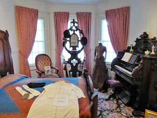 room at the Historical society in Lititz