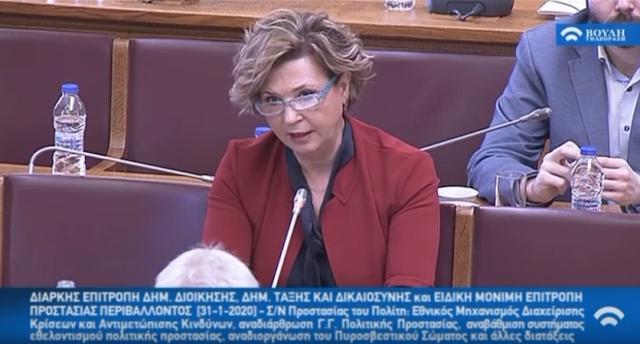 Όλγα Γεροβασίλη: Η κυβέρνηση επιδεικτικά αγνοεί τις προτάσεις των Δήμων και των Περιφερειών – VIDEO