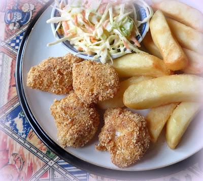 Cornmeal Crusted Cod Cheeks