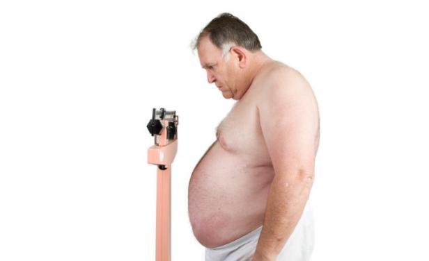 La familia del obeso