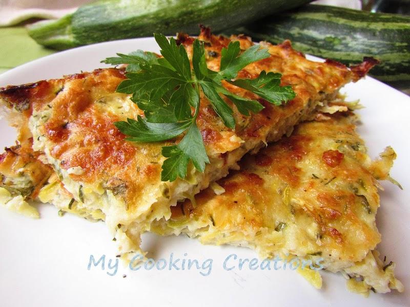 Запеканка от тиквички с кашкавал * Pasticcio di zucchine al formaggio