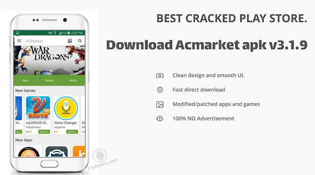 Download Acmarket apk v3.1.9 2017 for android