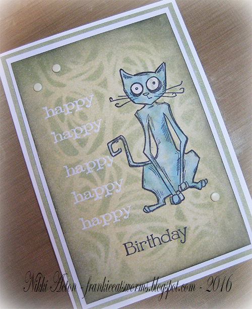Tim Holtz Crazy Cats - Addicted to Art