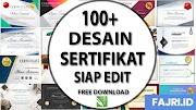 Download 100+ Desain Sertifikat Terbaru Siap Edit Gratis