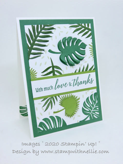 Tropical Chic Stampin Up