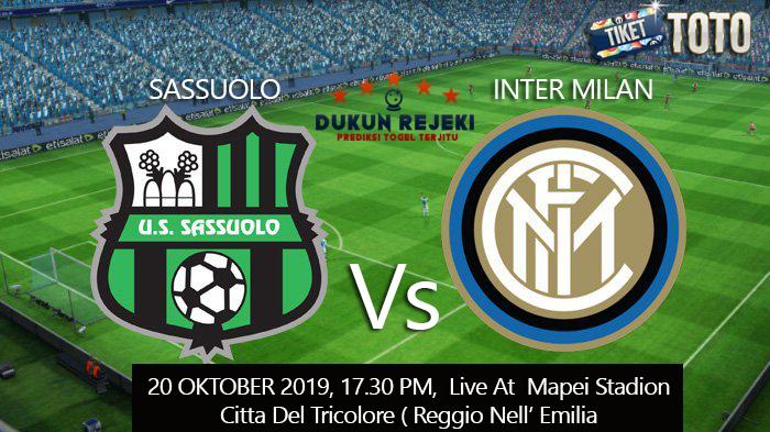 Prediksi Sassuolo vs Inter Milan 20 Oktober 2019