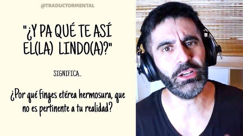Youtuber argentino queda lelo descifrando cómo hablan los chilenos