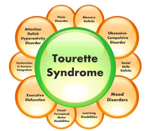 Tauret syndrome symtomps