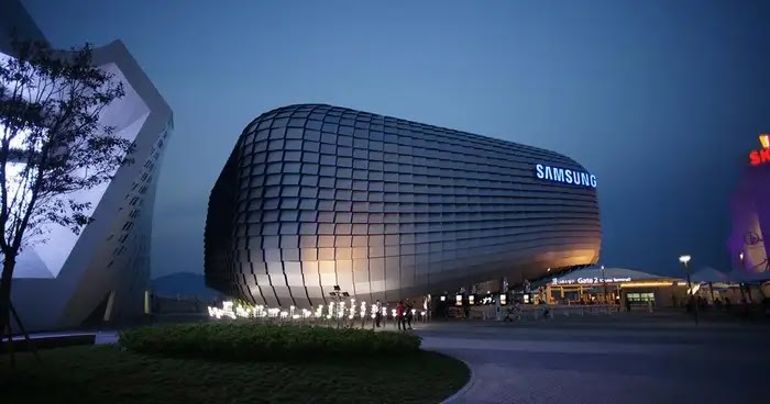 In the millions of dollars ... Samsung is building a factory in Saudi Arabia