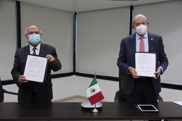 Firman convenio de colaboración AEM y Tecnológico Nacional de México