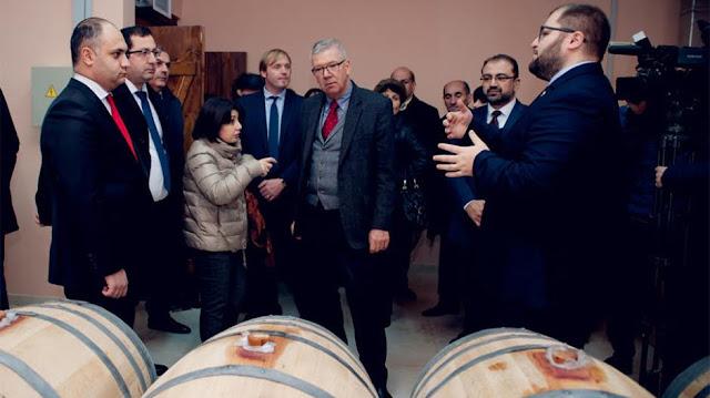 Abre Voskehat Wine Center en Armenia