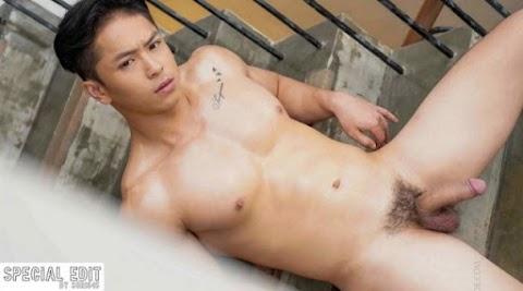 [MAG] Wing Vol.02 - Muscular Asian Thai Fei BTS and cum shot