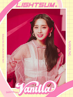Nayoung,  integrante de lightsum de cube entertainment
