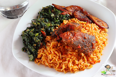 How to Cook Nigerian Coconut Rice (coconut jollof rice)