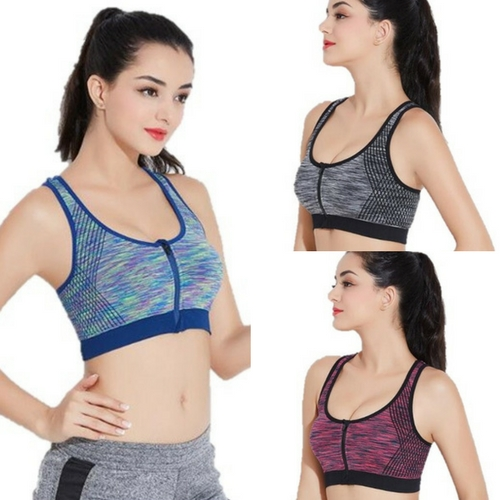 b7d46d09ec51a Fashion sports yoga running gym workout padded bra. Breathable and  sweat-absorbent