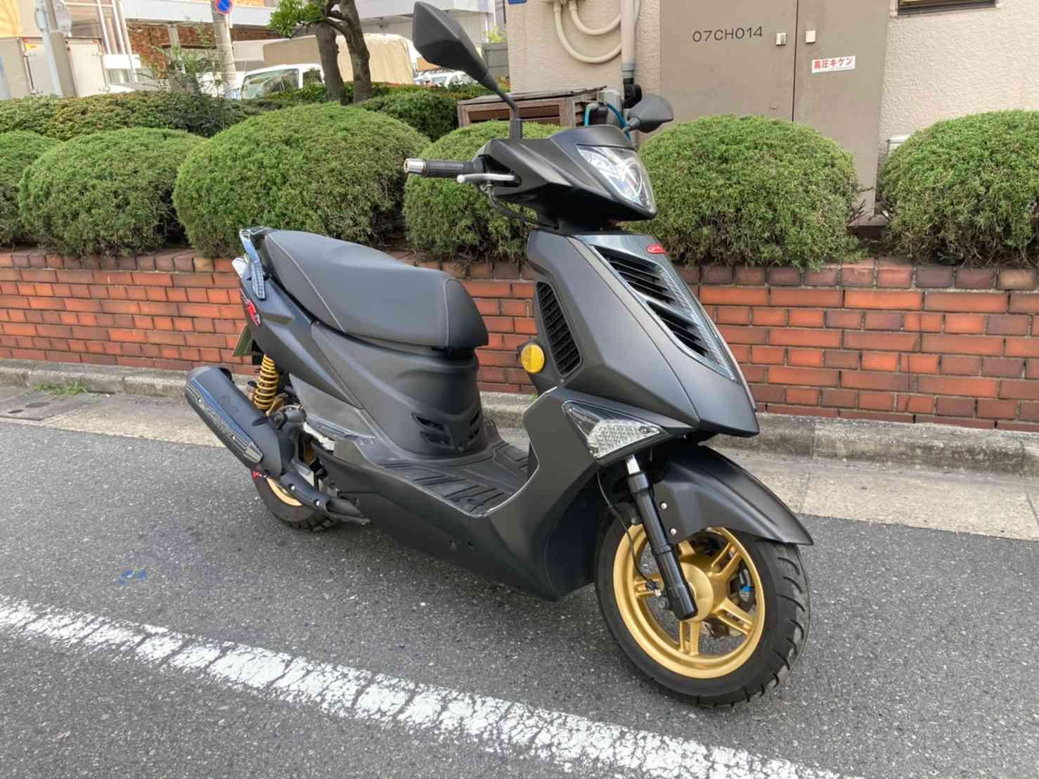 中古バイク ティグラ168R