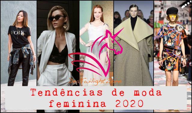 tendências de moda feminina 2020