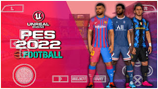 Download PES 2022 PPSSPP Patch Chelito V1.0 Camera PS5 Best Graphics Real Faces & New Last Transfer