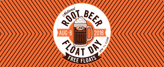 Free Root Beer Float At A & W on August 6th! ~ Holiday Contests and Sweeps