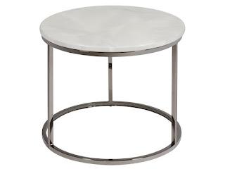 mesa redonda auxiliar para el salon