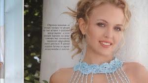 Vestido Elegante al Crochet / Patrones revista rusa