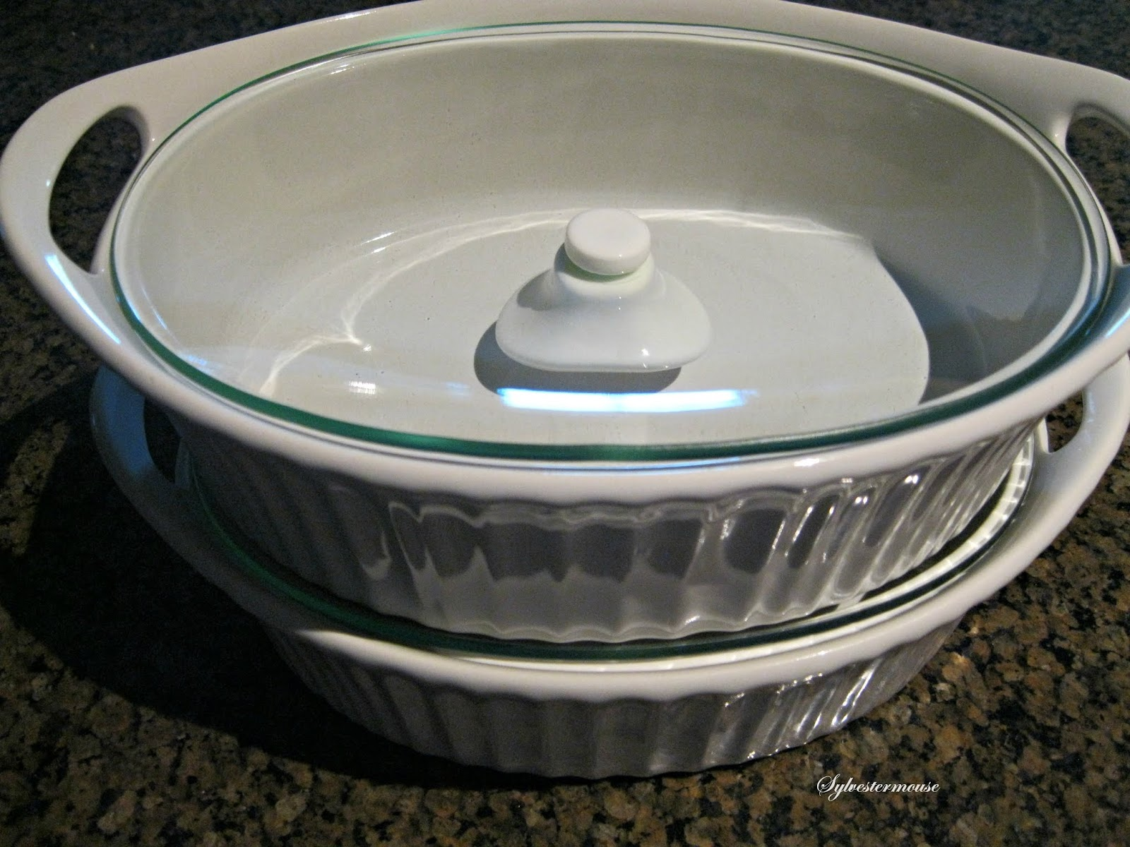 New CorningWare French White Oval Casserole with Glass Lid Review