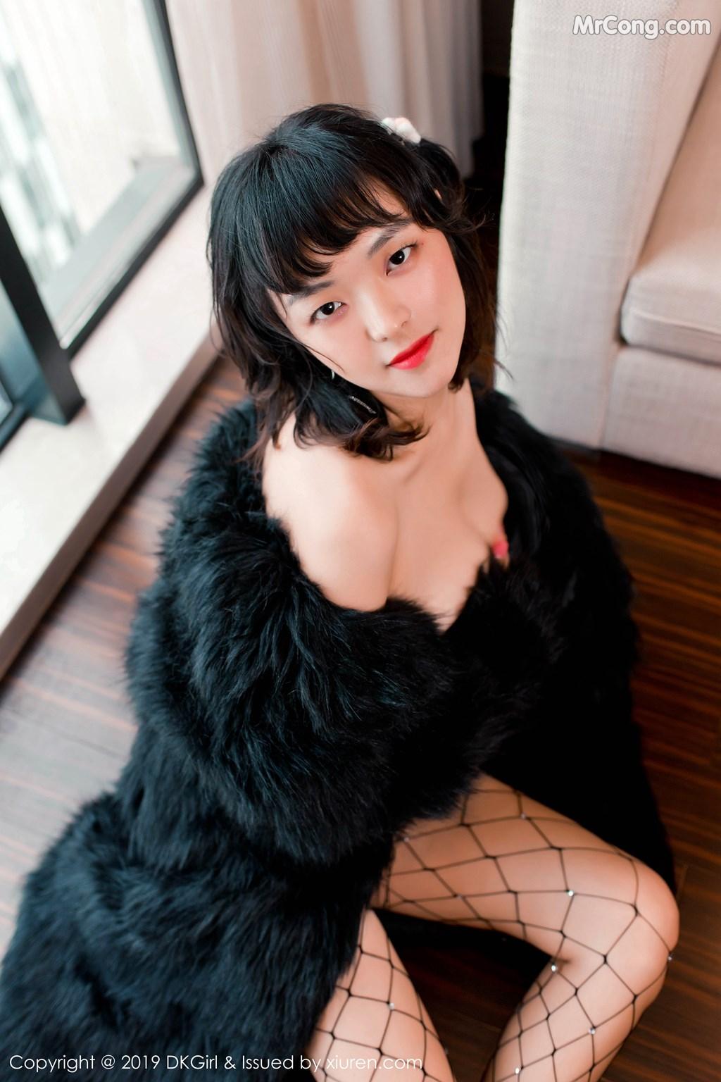 Image DKGirl-Vol.118-Zhang-Hua-Hua-MrCong.com-007 in post DKGirl Vol.118: Zhang Hua Hua (张花花) (51 ảnh)