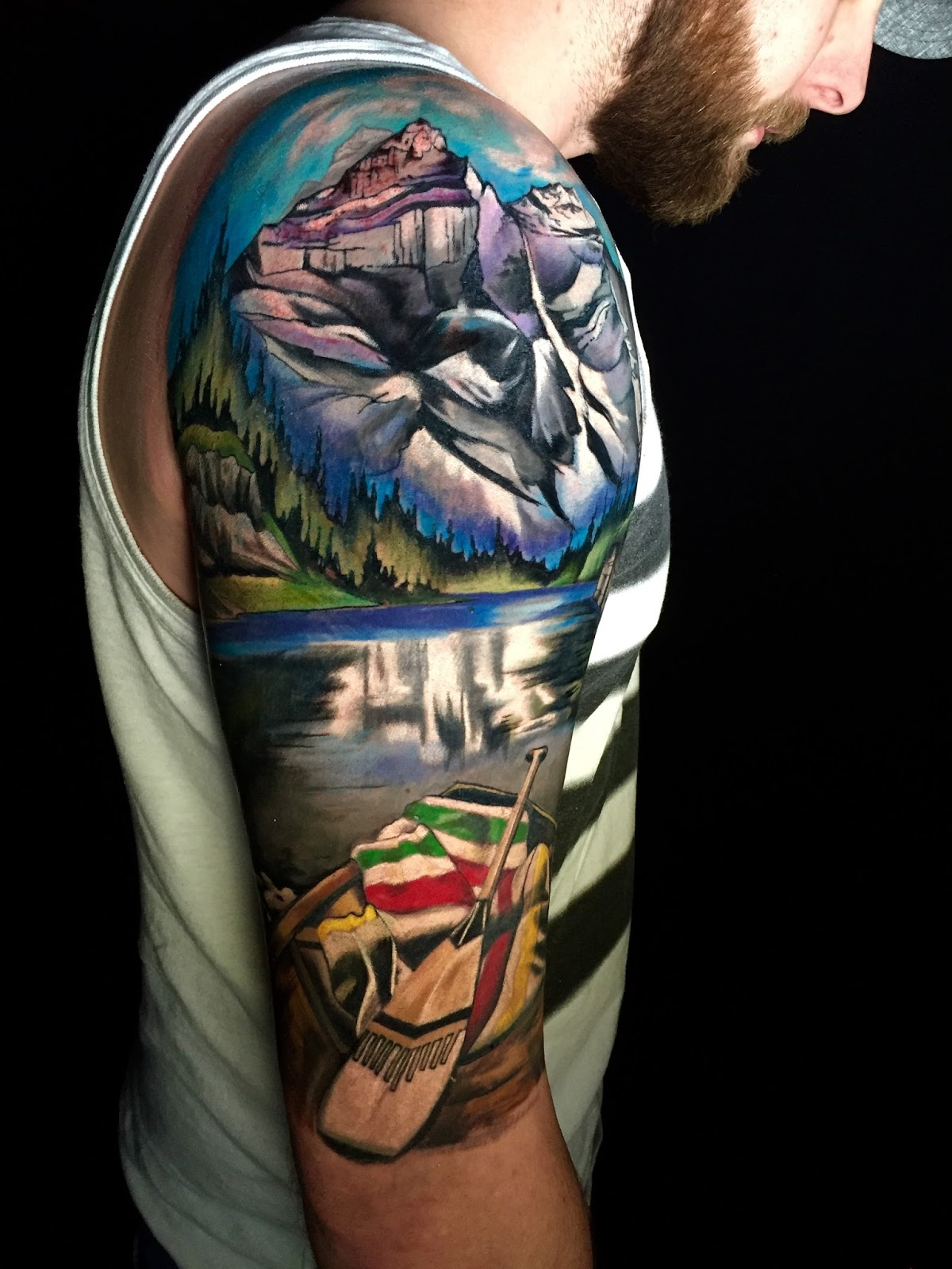 7 Mountain Inspired Tattoos From On The Fringe Of The Bow