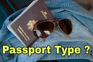 पासपोर्ट कितने प्रकार के होते हैं