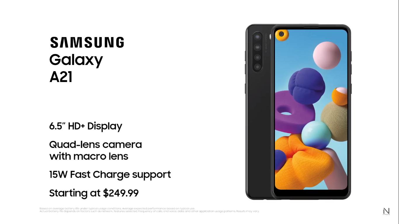 Nuovo Samsung Galaxy A21 | Video