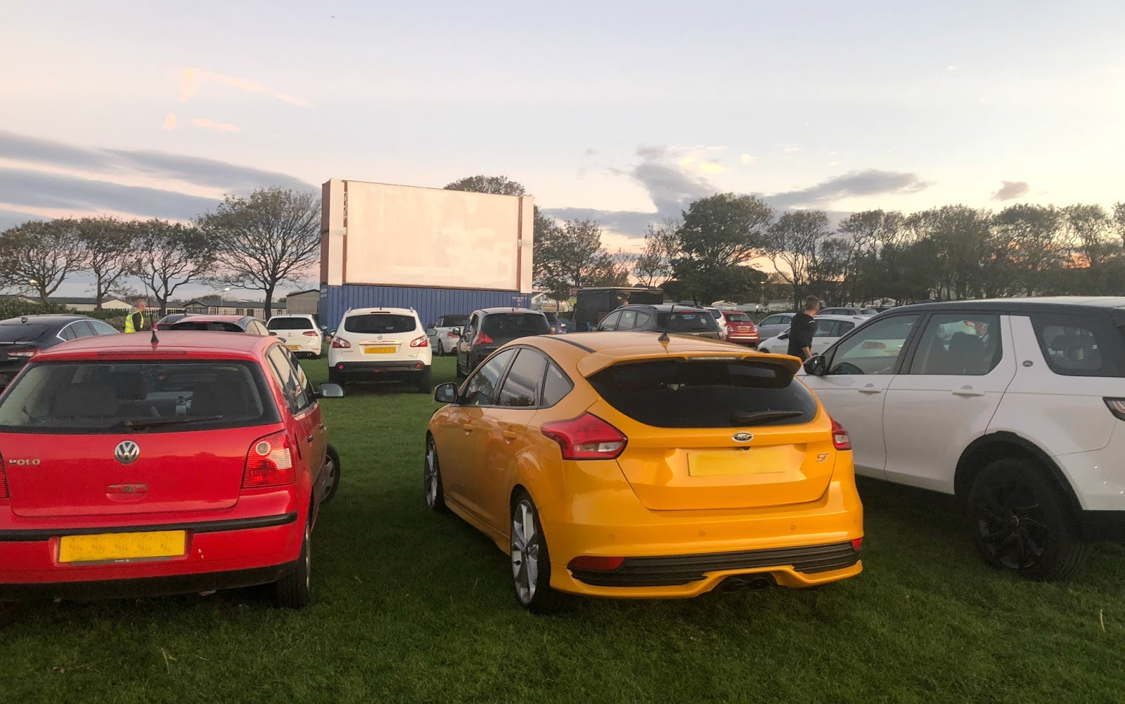 Drive in Cinema at South Shields