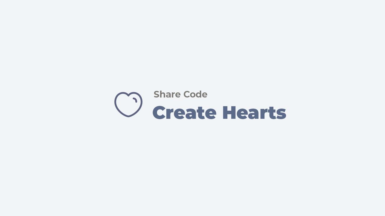 tạo chữ hình trái tim