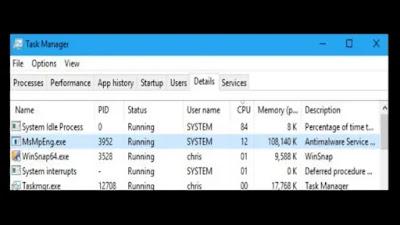 ما هي خدمة Antimalware Service القابلة للتنفيذ ولماذا لا تزال تعمل