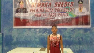 Zaenal Adam, Libero Handal Tim Bola Voli Sulut Ditawari Masuk Kepolisian