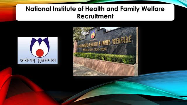 NIHFW Recruitment 2021 08 Steno & Staff Nurse Posts – Apply online