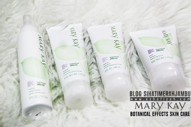 Produk Mary Kay Botanical Effects Skin Care Formula 3