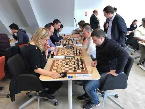 Almira Skripchenko et Sergey Fedorchuk à Paris ce samedi 16 septembre au Blitz d'Oscaro ! - Photo © Chess & Strategy