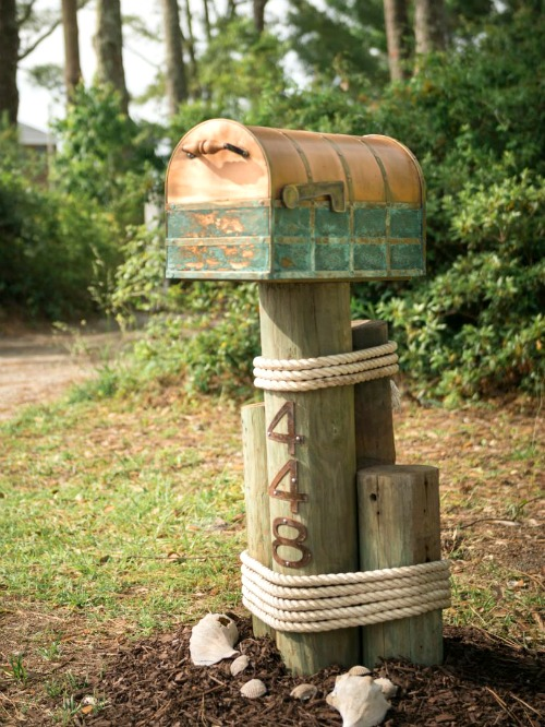 Mailbox Pilings