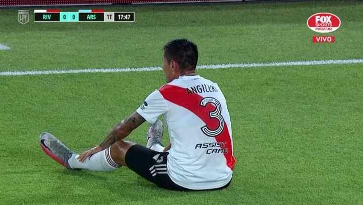Angileri y Casco se pierden el Superclásico ante Boca por lesión