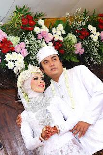 Pernikahan dengan adat sunda siger akad nikah