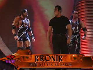 WWE / WWF Unforgiven 2001 - Steven Richards leads Kronik into battle