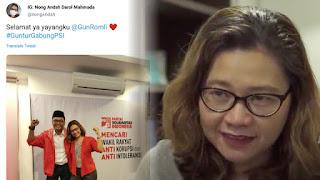 Narasumber Dampak Buruk Anak Dipaksa Berjilbab, Narasumbernya Ternyata Istri Guntur Romli PSI