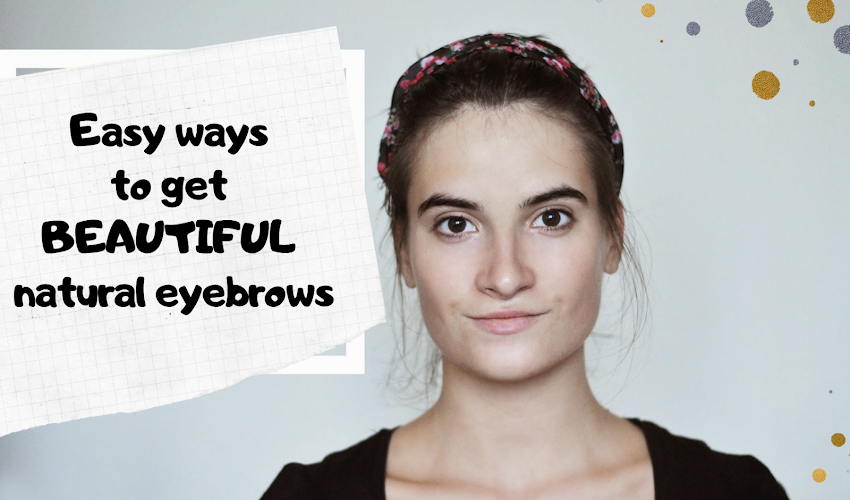 How to help eyebrows grow FAST and THICK natural way. First effects within 3 days